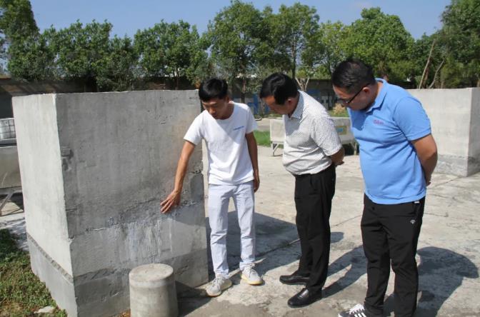 朗凯奇自愈合防水,防水涂料厂家,防水材料,防水堵漏材料,参观考察